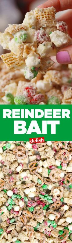 Put out this Reindeer Bait on Christmas Eve if you want to catch Santa in action. Get the recipe on http://Delish.com.