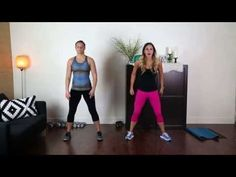 Week 12 Workout 4 IdealShape Up Challenge! 12 weeks of Free Fat-Burning Workouts! - YouTube