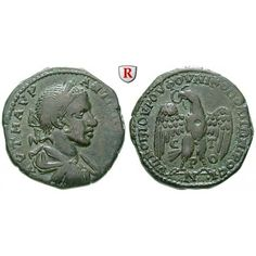 Römische Provinzialprägungen, Thrakien-Donaugebiet, Nikopolis am Istros, Elagabal, Bronze, ss: Thrakien-Donaugebiet, Nikopolis am… #coins