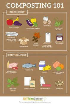 How to Compost at Home & Learn what can (and can& be composted with this h& How to Compost at Home & Learn what can (and can& be composted with this handy guide! The post How to Compost at Home Gardening For Beginners, Gardening Tips, Container Gardening, Gardening Vegetables, Growing Vegetables, Herb Container, Regrow Vegetables, Growing Herbs Indoors, Gardening Zones