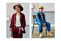 """StéphaneAshpool returnedto his elementary school alma mater for Pigalle's Spring/Summer 2016 """"Ensemble"""" lookbook. The collection, first unveiled at Paris Fashion Weekand enhanced bya short documentaryof the same name, is deep-rooted in Ashpool's personal upbringing. Never before have designs been more intrinsic to his character. An example of this can be seen in his application of …"""