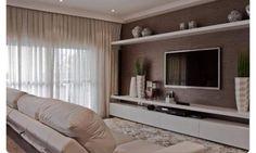 TV wall   minimalist