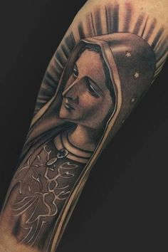 TattooNOW connects the worlds best tattoo artists and fans. Tattoo Maria, Mary Tattoo, Worlds Best Tattoos, Mary And Jesus, Desenho Tattoo, Dope Tattoos, Tiger Tattoo, Tattoo Designs, Tattoo Ideas