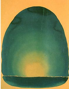 Georgia O'Keeffe,  Light coming on the plains 1917