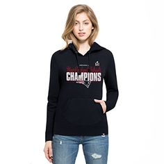 NFL New England Patriots Womens Super Bowl 51 Champions 47 Headline Pullover Hoodie XLarge Fall Navy ** Details can be found by clicking on the image.