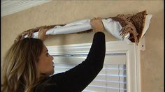 DIY Draperies - Making your own draperies can save you thousands of dollars! Kat Cosley has a few DIY tips for makeing your window treatments.