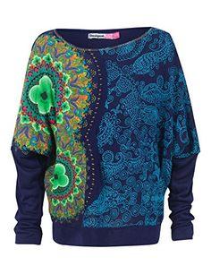 Desigual Franck - T-shirt - À fleurs - Fille - Bleu (5001) - FR: 4 ans (Taille fabricant: 4) Desigual http://www.amazon.fr/dp/B00JDDPLP4/ref=cm_sw_r_pi_dp_fYR7vb1RY8641