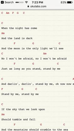 Stand By Me for Uke
