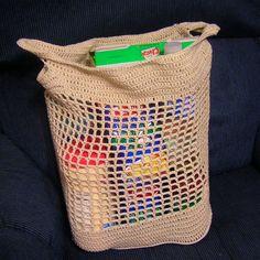 $1.99 - Julie's Shopping Bag - A Crochet pattern from jpfun.com