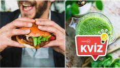 KVÍZ: Si skutočný expert na zdravú výživu? Ako dobre vieš odhadnúť zdravé potraviny? Hamburger, Ethnic Recipes, Eggs, Horoscope, Burgers