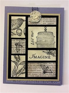 Bye Bye NatureWalk by Pammyjo - Cards and Paper Crafts at Splitcoaststampers