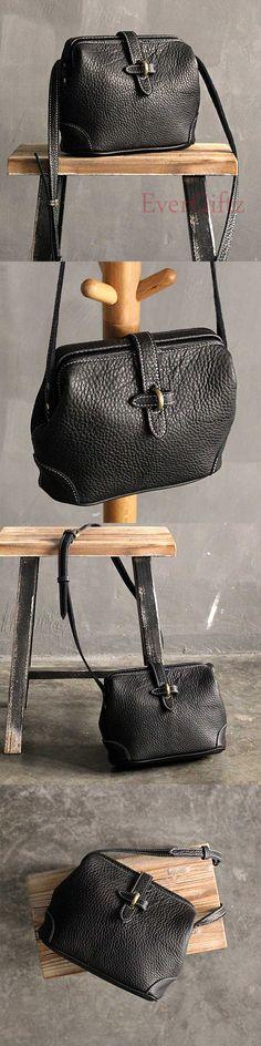 Handmade leather vintage women purse shoulder bag crossbody bag