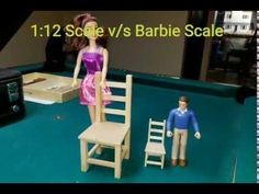 1:12th v/s Barbie (chair tutorial) - YouTube