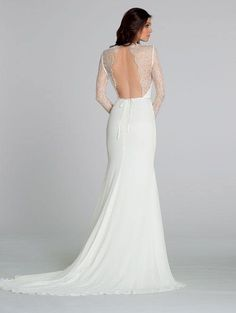 Backless Wedding Dresses With Sexy Details - MODwedding
