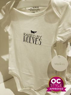 Adorable and perfect for my wild one: - Oshawa Centre Style Approved by Life Runway - Find it at Chapters Raised By Wolves, Perfect For Me, Wild Ones, Real Life, Centre, Runway, Kids, Clothes, Style