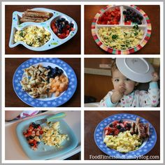 Munchkin Meals: 15 Months - Food, Fitness, and Family Toddler Lunches, Toddler Food, Boys Food, Childrens Meals, Baby Eating, Kid Friendly Meals, Healthy Kids, Meals For One, Baby Food Recipes