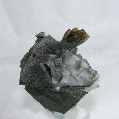 Titanite on Adularia Habach valley Salzburg Austria
