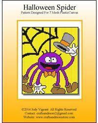 Halloween Spider***New pattern. Released 7/2014***