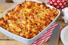 Itt a carbonara gnocchi! Naan, Gnocchi, Macaroni And Cheese, Cake Recipes, Cooking Recipes, Vegetables, Ethnic Recipes, Kitchen, Mamma Mia