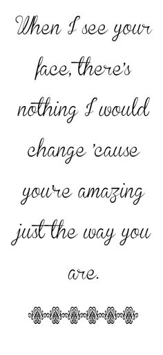 Bruno Mars - Just The Way You Are - song lyrics, song quotes, songs, music lyrics, music quotes,