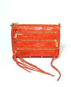 #RebeccaMinkoff hand bags are amazing! Love this color!! $195