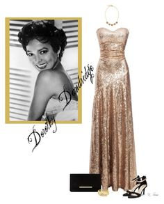 """Dorothy Dandridge"" by ksims-1 ❤ liked on Polyvore featuring Dune and Vince Camuto"