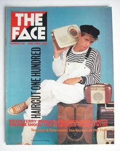 The Face magazine - Nick Heywood cover (June 1982 - Issue 26)