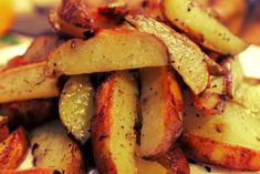 Spicy Potato Wedges Recipe on Yummly Spicy Potato Wedges, Parmesan Potato Wedges, Garlic Parmesan Potatoes, Potato Wedges Recipe, Baked Garlic, Crispy Potatoes, Sliced Potatoes, Breakfast Casserole With Biscuits, Ukrainian Recipes