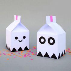 DIY Free printable treat boxes by minieco #DIY #printable