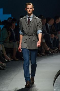 COOL CHIC STYLE to dress italian: Ermenegildo Zegna SPRING/SUMMER 2014 MENSWEAR COLLECTION | MILAN FASHION WEEK