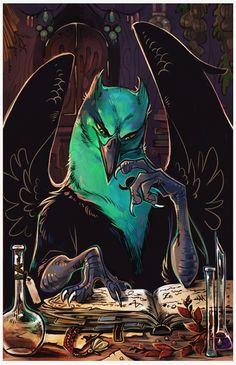 Alchemist by Drkav.deviantart.com on @deviantART