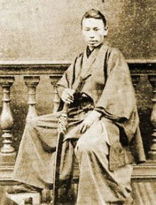 長州藩士 井上聞多 (井上馨) Choshu clan well on many (Inoue)