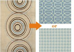 Mixing Patterns - tips for finding the perfect rug without trying it first
