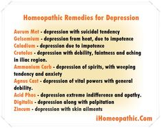 Natural Homeopathic Remedies for Depression therapy Holistic Remedies, Homeopathic Remedies, Natural Health Remedies, Holistic Healing, Homeopathy Medicine, Depression Remedies, Cellulite Remedies, Alternative Medicine, Tips