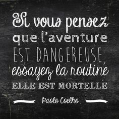 Les plus belles citations de Voyage Travel quotes 2019 - Travel Photo Words Quotes, Me Quotes, Book Quotes, Quotes Valentines Day, Typographie Logo, Plus Belle Citation, Quote Citation, French Quotes, French Sayings
