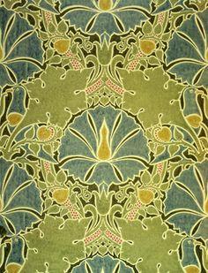 The Saladin Wallpaper - C.F.A. Voysey