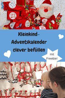 Meine Eltern-Zeit. Entspannt & Aktiv durch's Familienchaos?!: Die schönsten Adventskalender-Geschenke für Kleinkinder #Adventskalender #Kleinkind