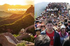 20 Photos That Sum up Your Travel Expectations Vs Reality.