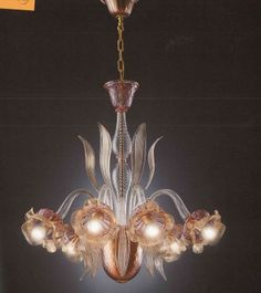 La Murrina - Chandelier Brahms S/6 - luxury murano glass lighting ...