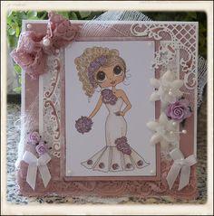 Anita en haar kaarten: Daar komt de bruid!