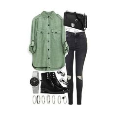 """""""Untitled #20119"""" by florencia95 ❤ liked on Polyvore featuring Topshop, Christian Dior, Humble Chic and Skagen"""