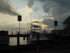 Abendstimmung am kleinen Hafen von Georgetown