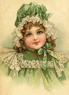 Frances Brundage - Green Dress