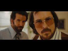 "American Hustle: ""You Playin' Me"" Clip American Hustle, Christian Bale, Bradley Cooper, British Actors, Great Movies, Survival, Mens Sunglasses, Film, Videos"