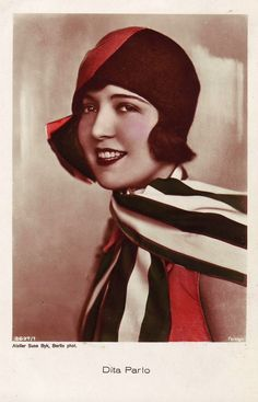 Dita Parlo (September 4, 1906 – December 13, 1971). hat