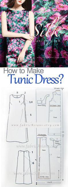 how to sew tunic dress? free pdf