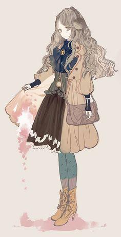 anime girl sweater - Google Search