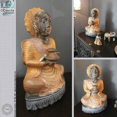BUDA em madeira,1ª mão (novo)... peça muito bonita e de grande dimensão......muito usado na decoração, devido ao seu significado e simbologia...www.facebook.com/objecta.segunda.mao/