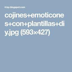 cojines+emoticones+con+plantillas+diy.jpg (593×427)