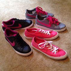 3 Pair - Nike Tennis Shoes